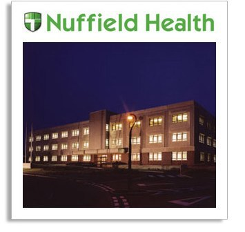 Nuffield Hospital - by moonlight!